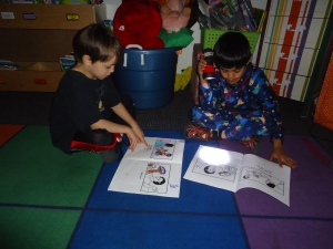 Roshan and Jonny are reading our book of the week, together.