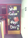 Miss Eggers's Art Room Door 2